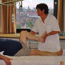 Na de heupoperatie: mobilisatie knie